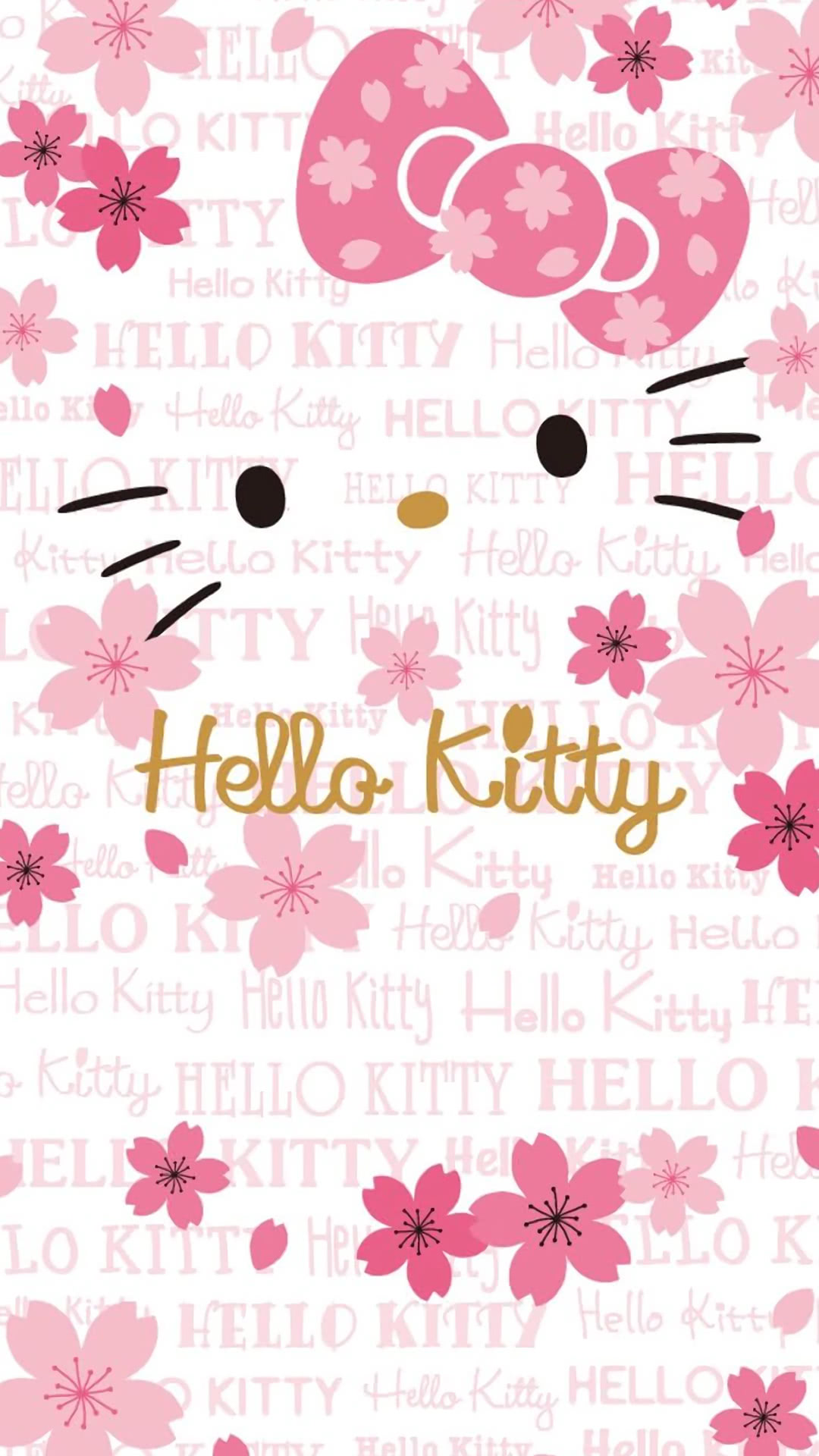 Hello Kitty Spring Iphone Wallpaper