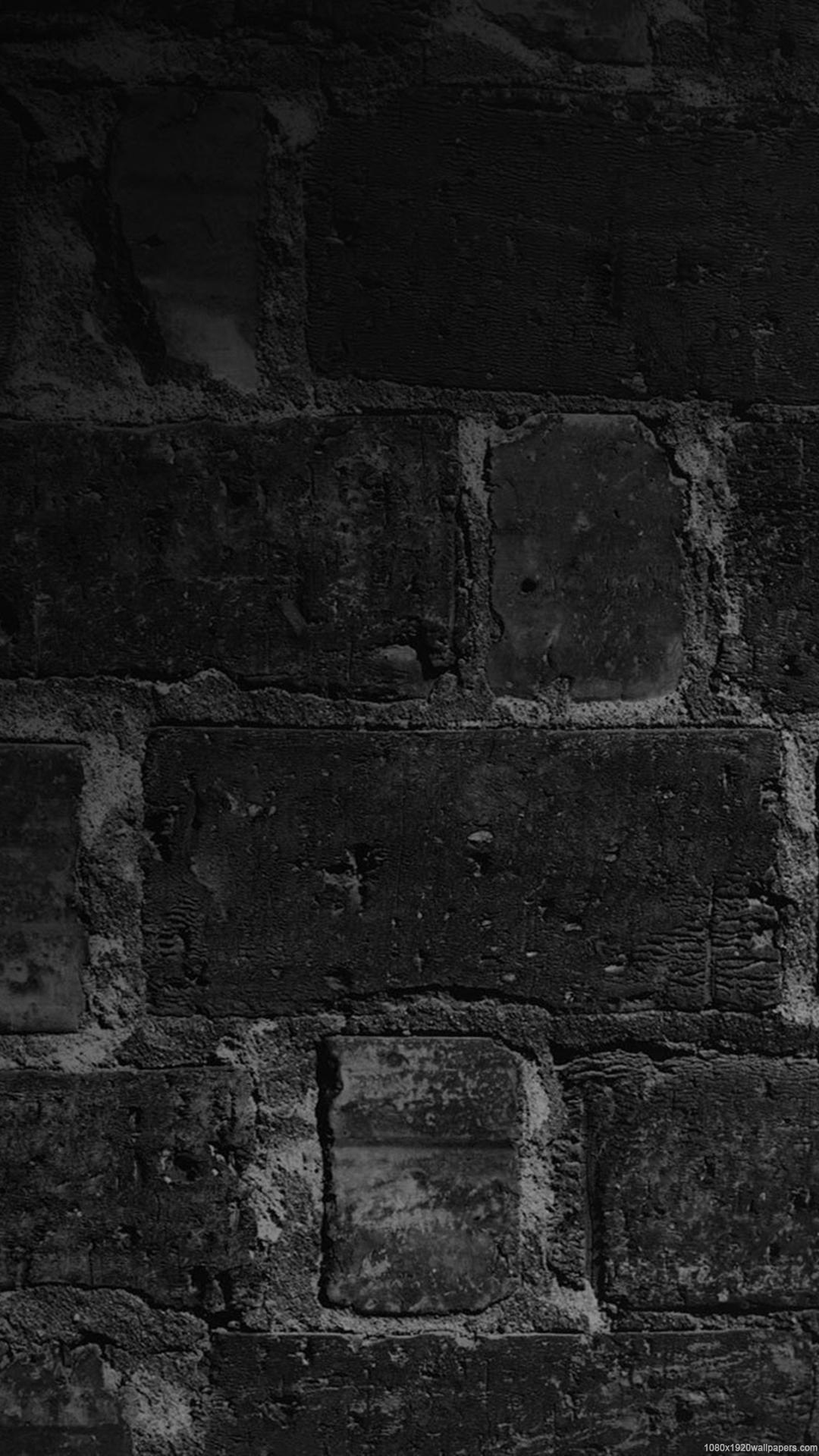 Black Brick IPhone Wallpaper