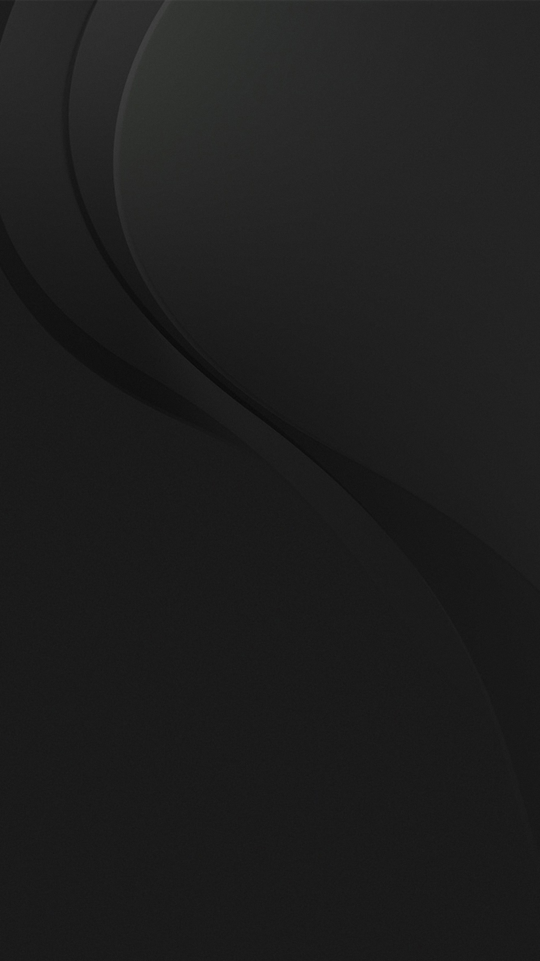 Stylish Black Smartphone Wallpaper