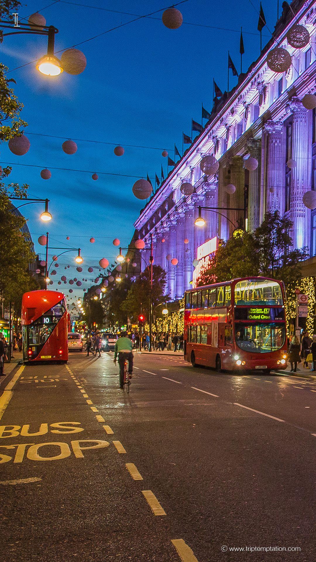 London At Night Iphone Wallpaper