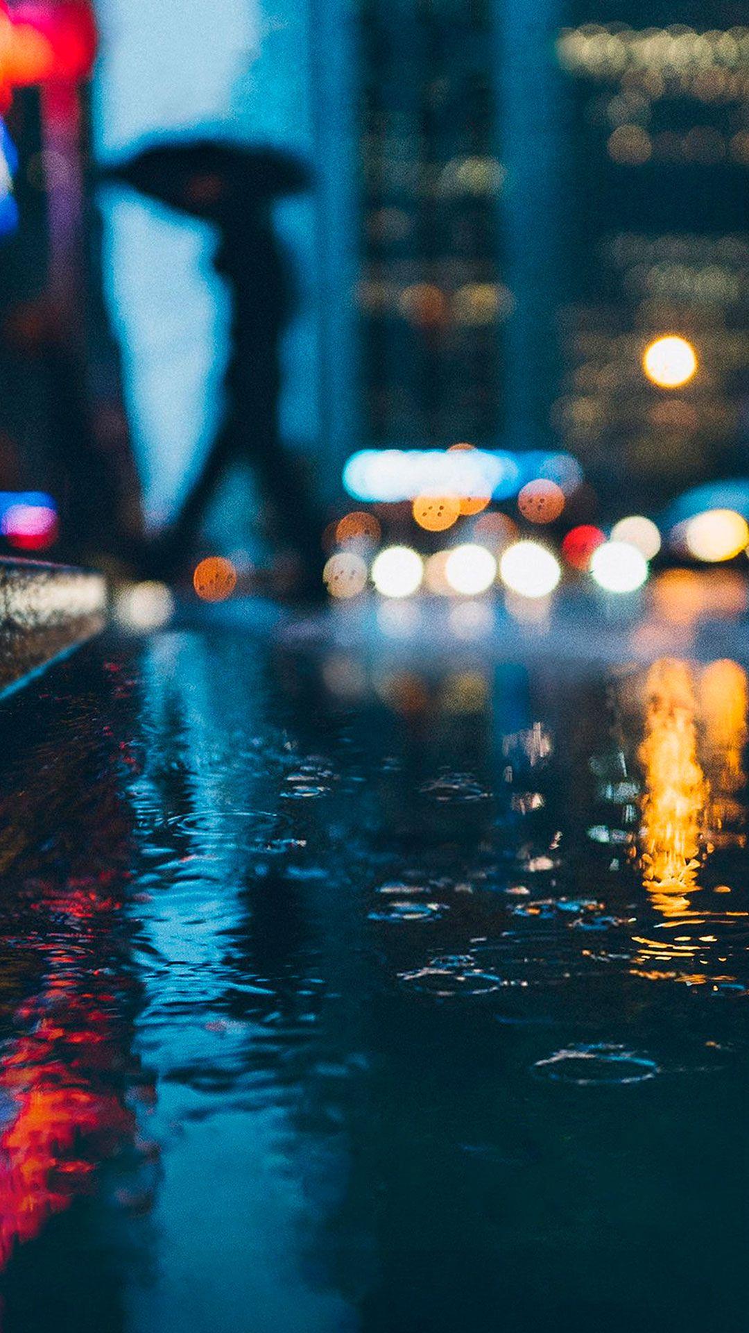 Rain Iphone Wallpaper
