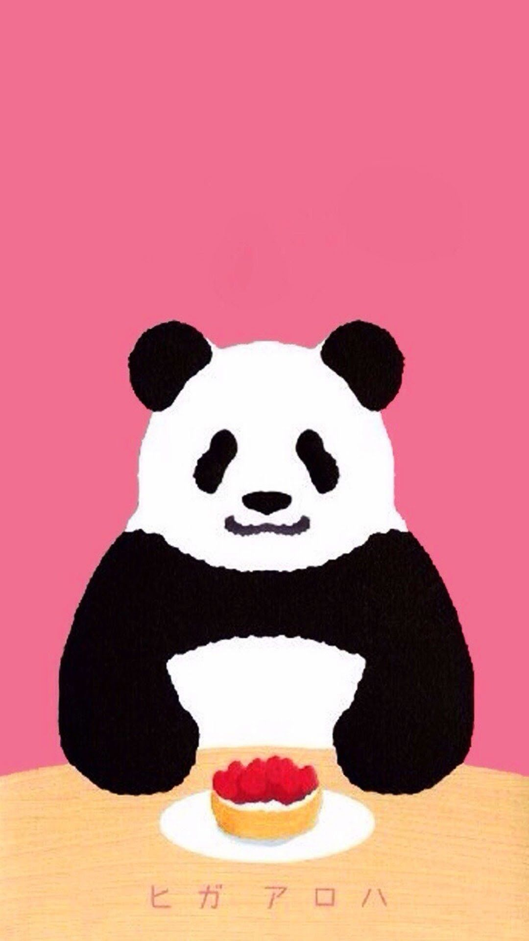 Panda Shirokuma Cafe Anime Iphone Wallpapers Iphone