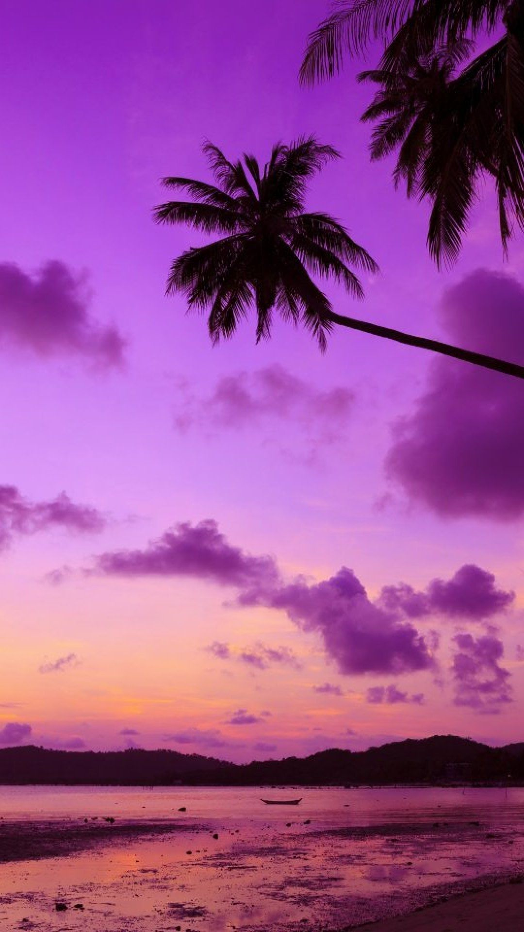 Purple Sunset Iphone Wallpapers