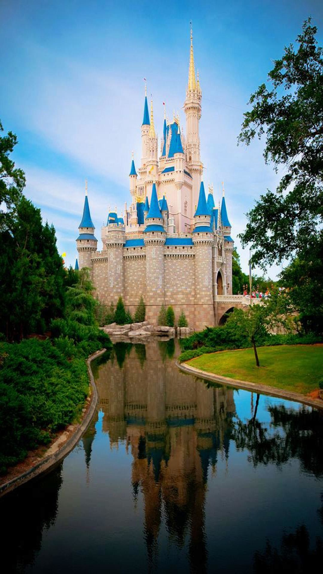 Cinderella Castle Iphone Wallpapers