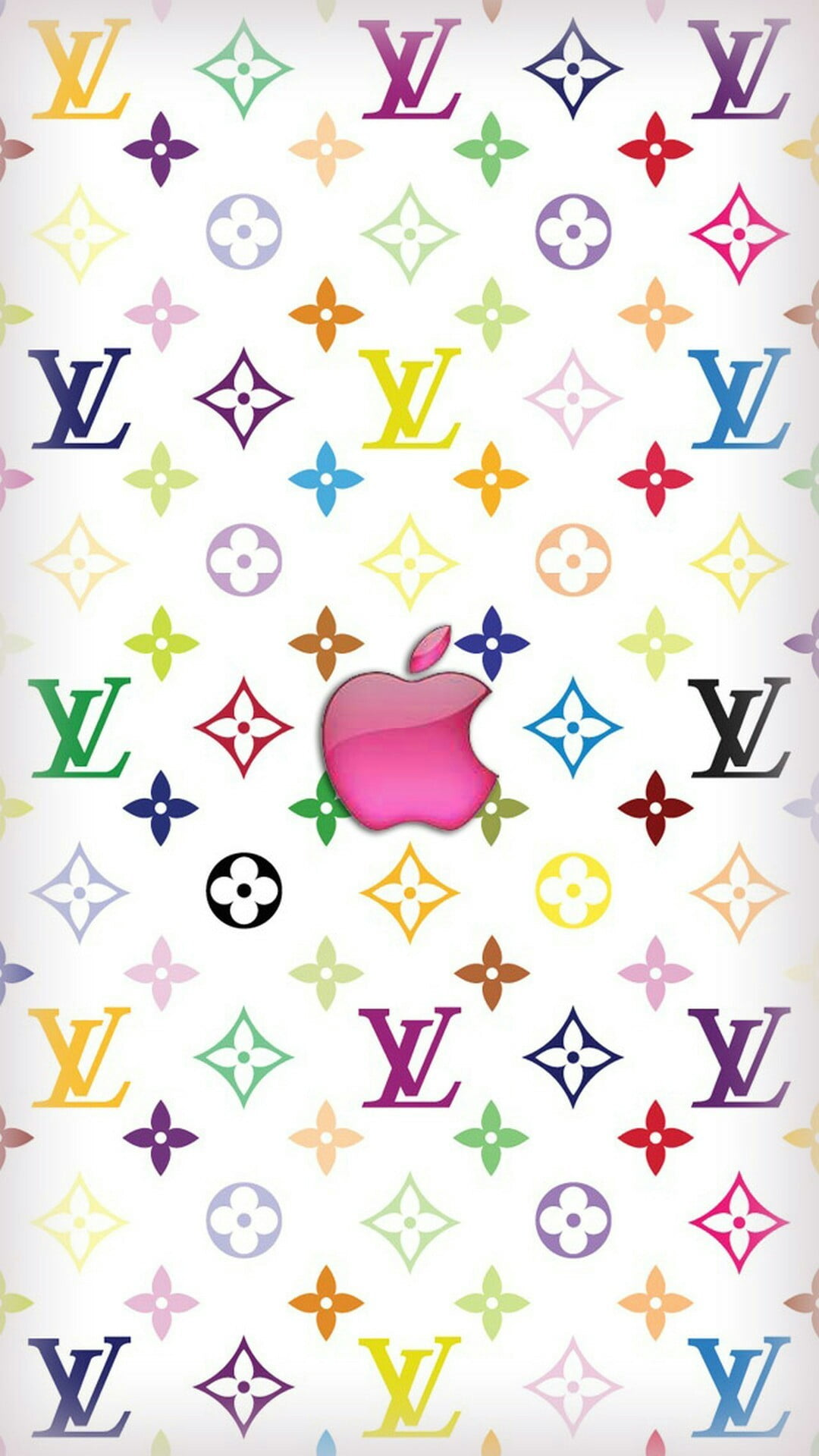 Louis Vuitton Apple Iphone Wallpaper