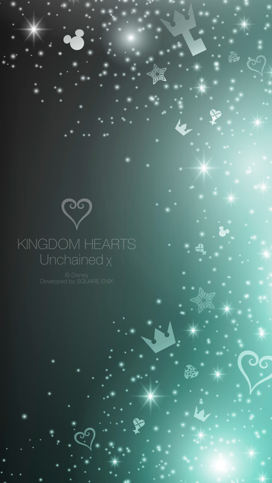 Kingdom Hearts Unchained χ | iPhone Wallpaper