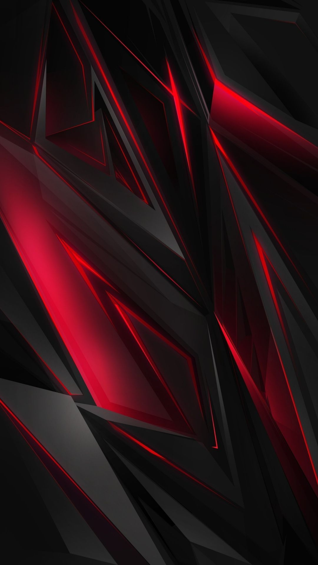 Red/Black | iPhone Wallpaper