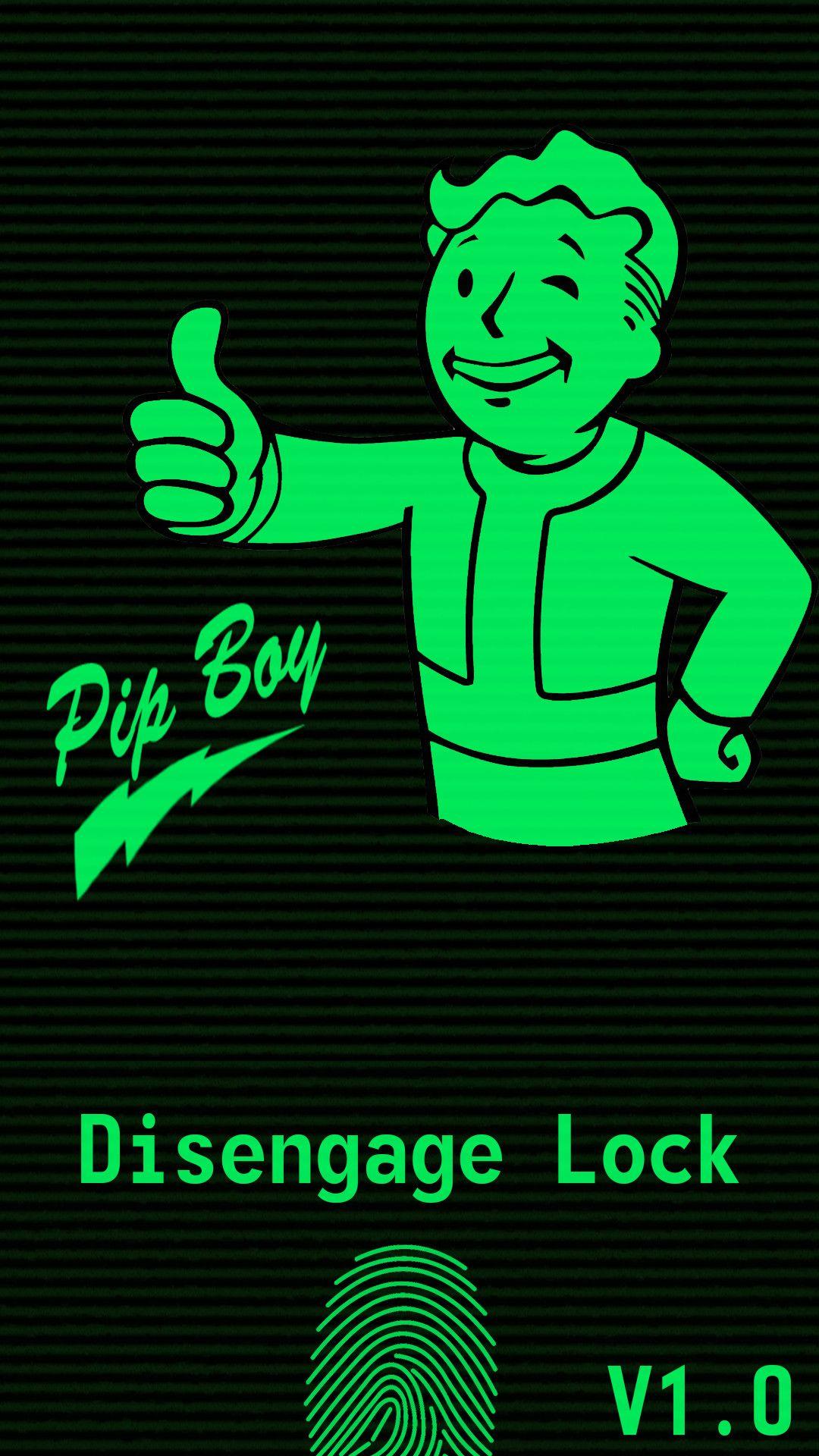 Fallout Pip Boy Iphone Wallpaper