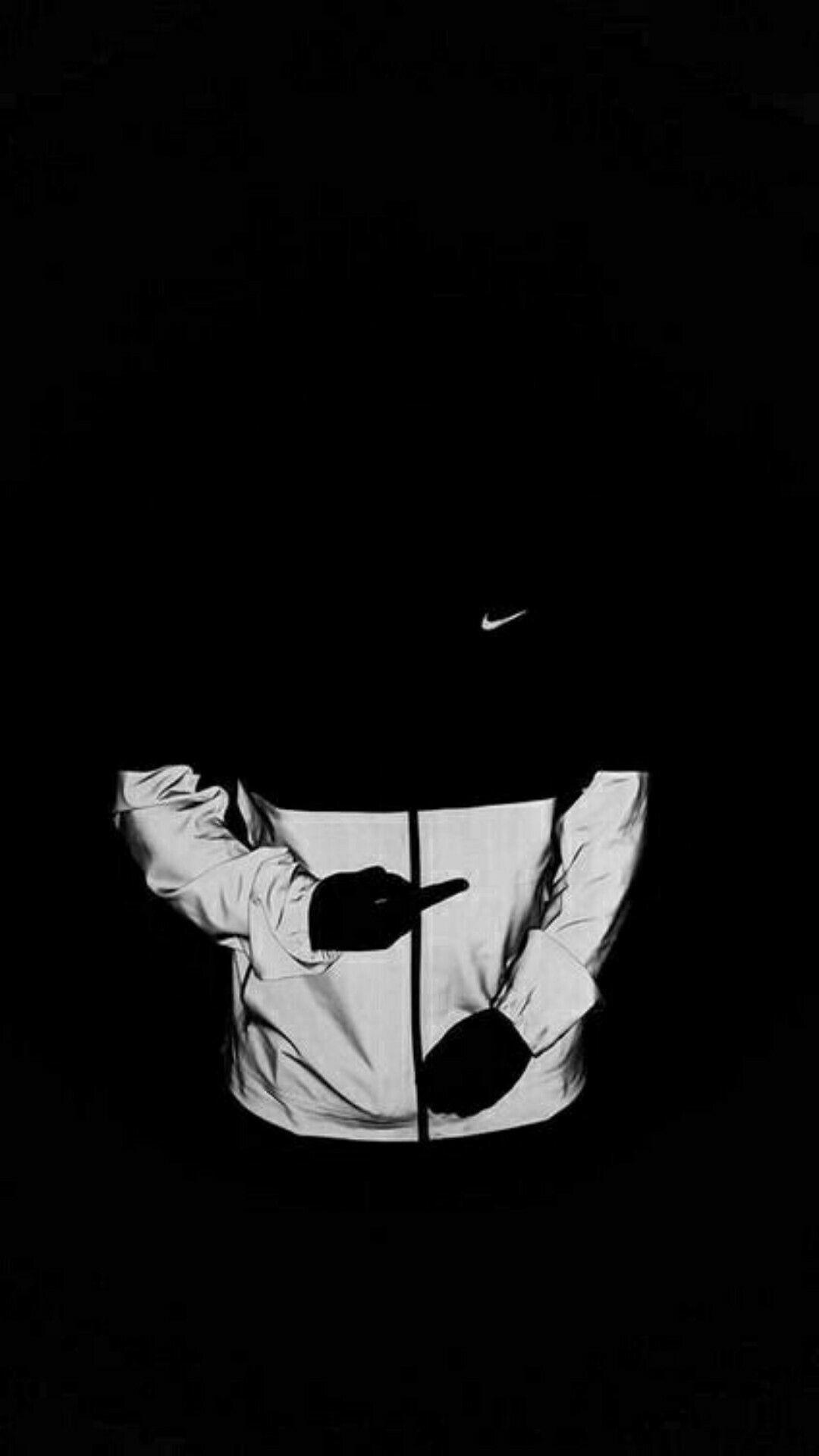 Iphone 6 Black Nike Wallpaper