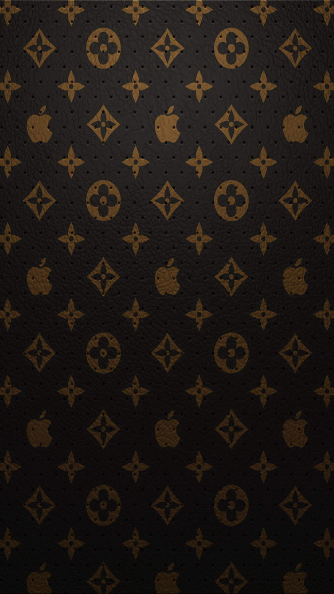 GUCCI Apple | iPhone Wallpaper