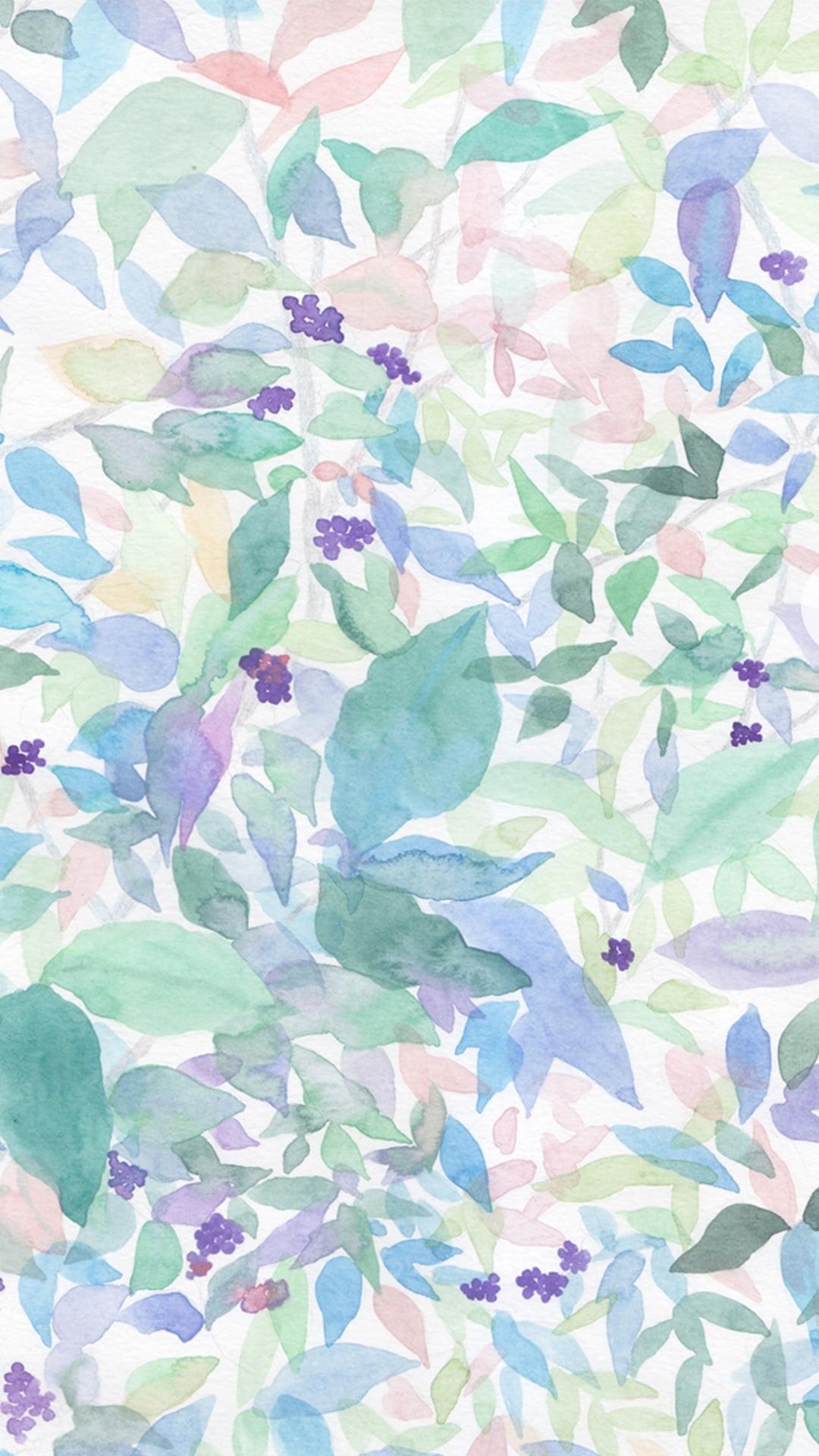 Watercolor Iphone Wallpapers
