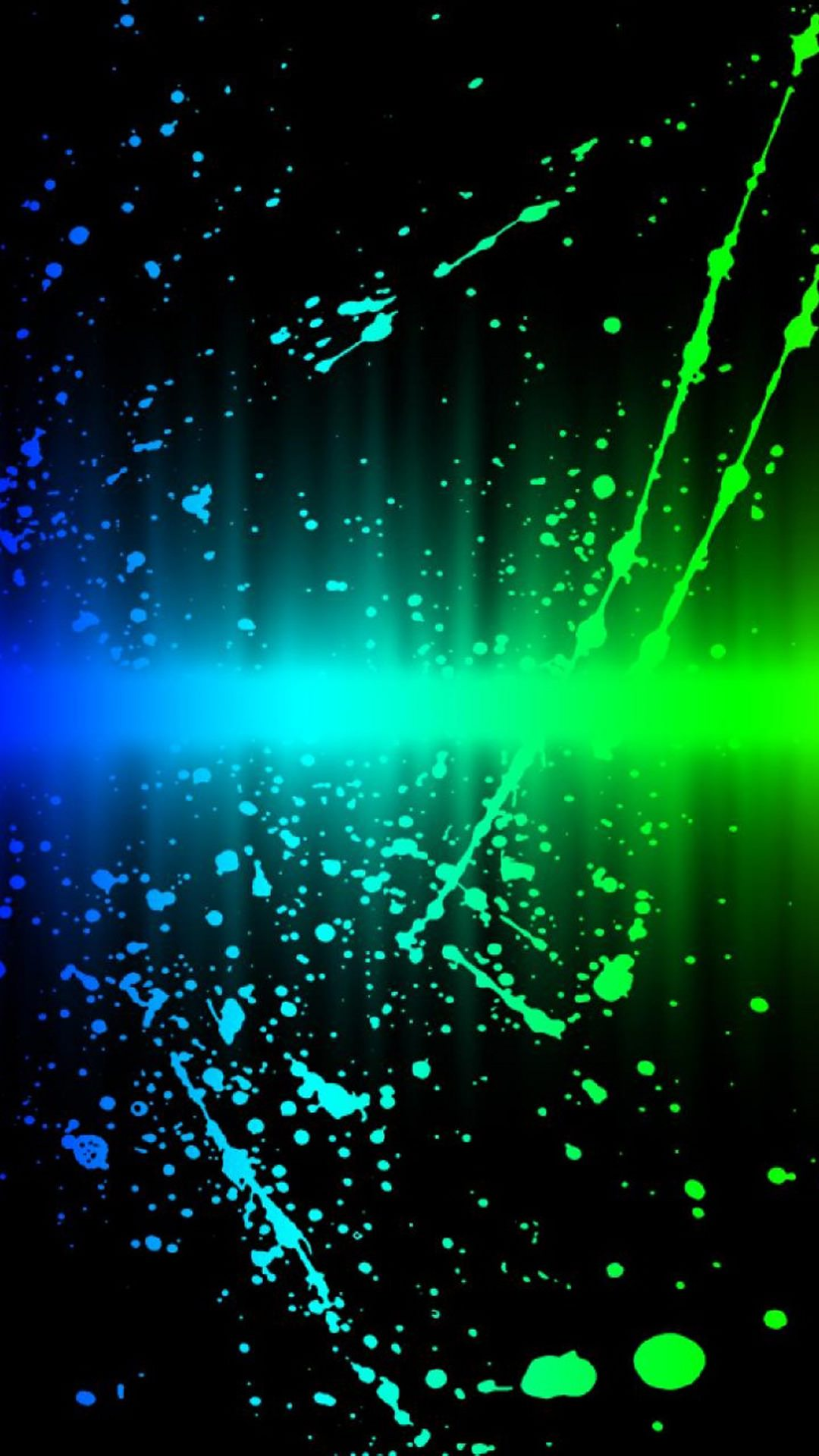 abstract blue and green neon wallpaper | iphone wallpaper