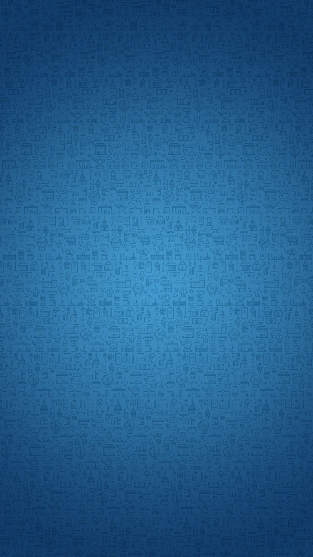 fashionable pattern (blue) | iphone wallpaper