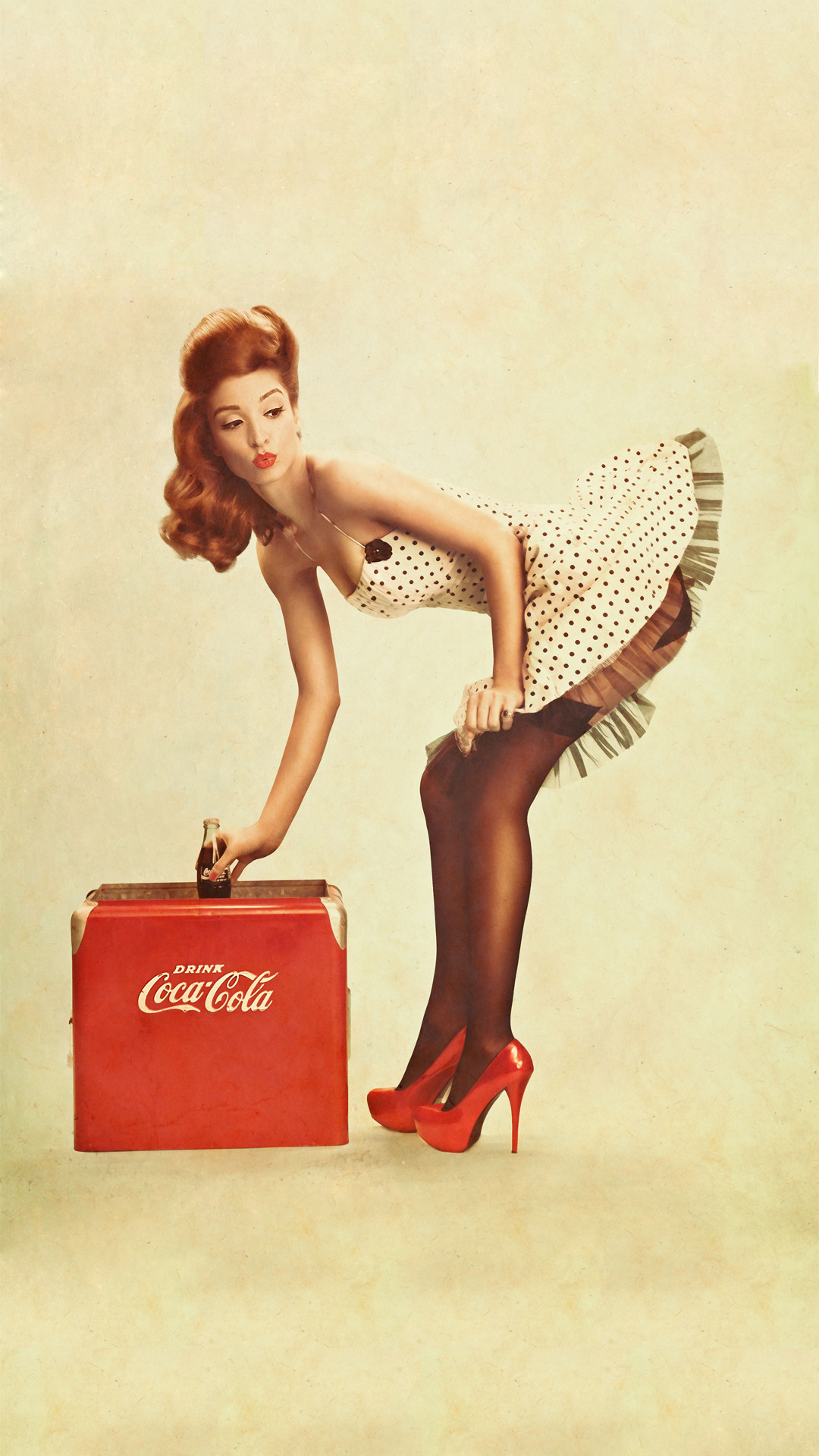 Coca Cola Pin Up Girl Iphone Wallpaper Iphone Wallpaper