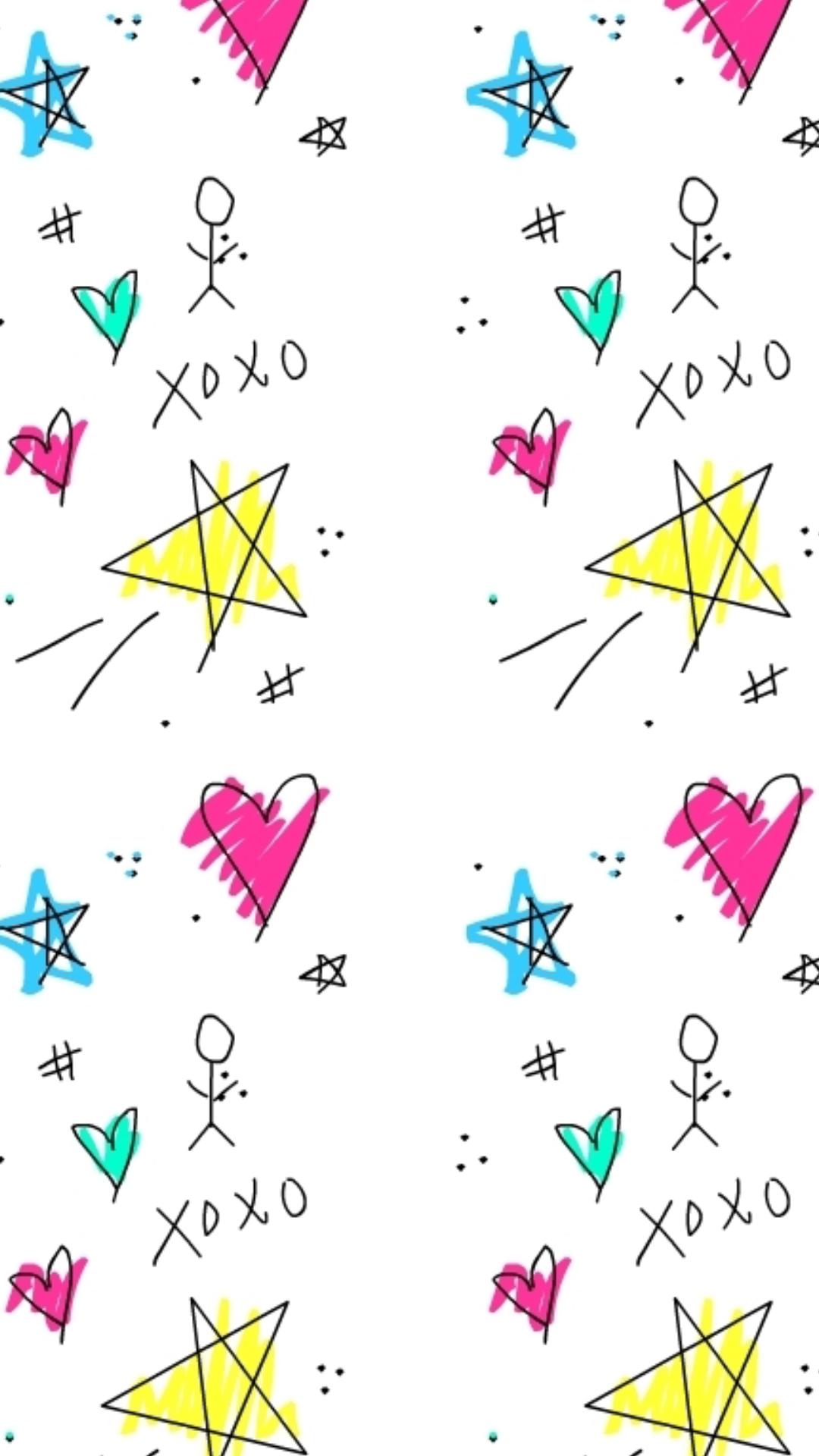 Xoxo wallpaper iphone wallpaper xoxo wallpaper voltagebd Choice Image