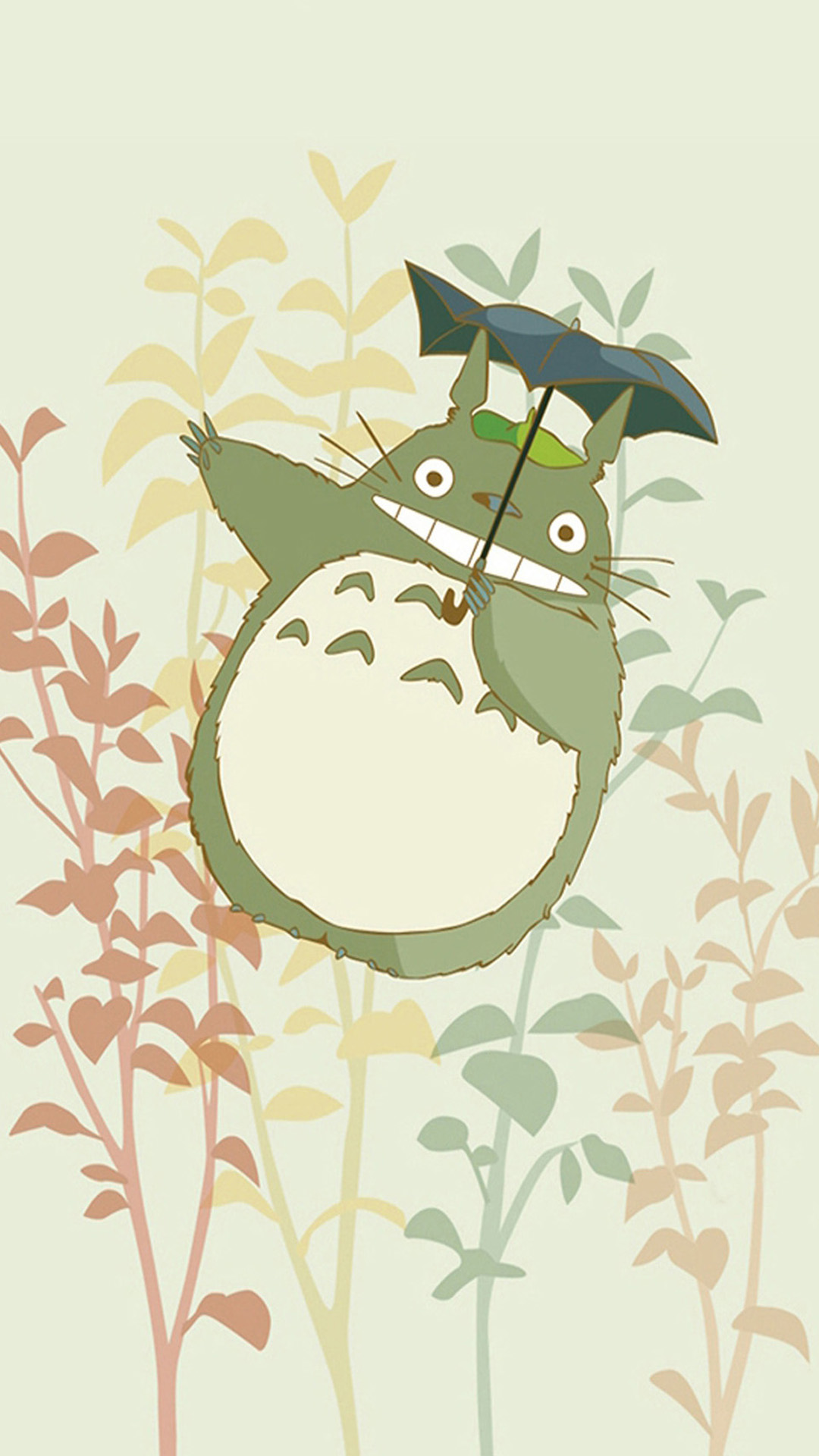 Anime Tonari No Totoro Iphone Wallpaper