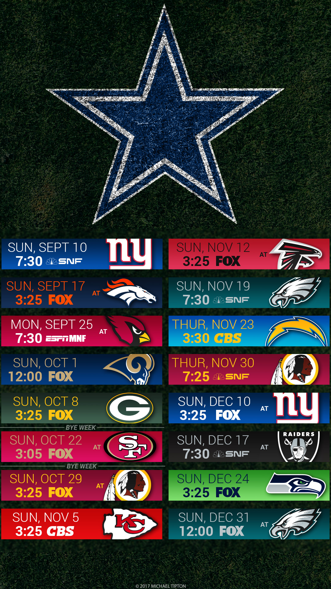 Dallas Cowboys Iphone Wallpaper