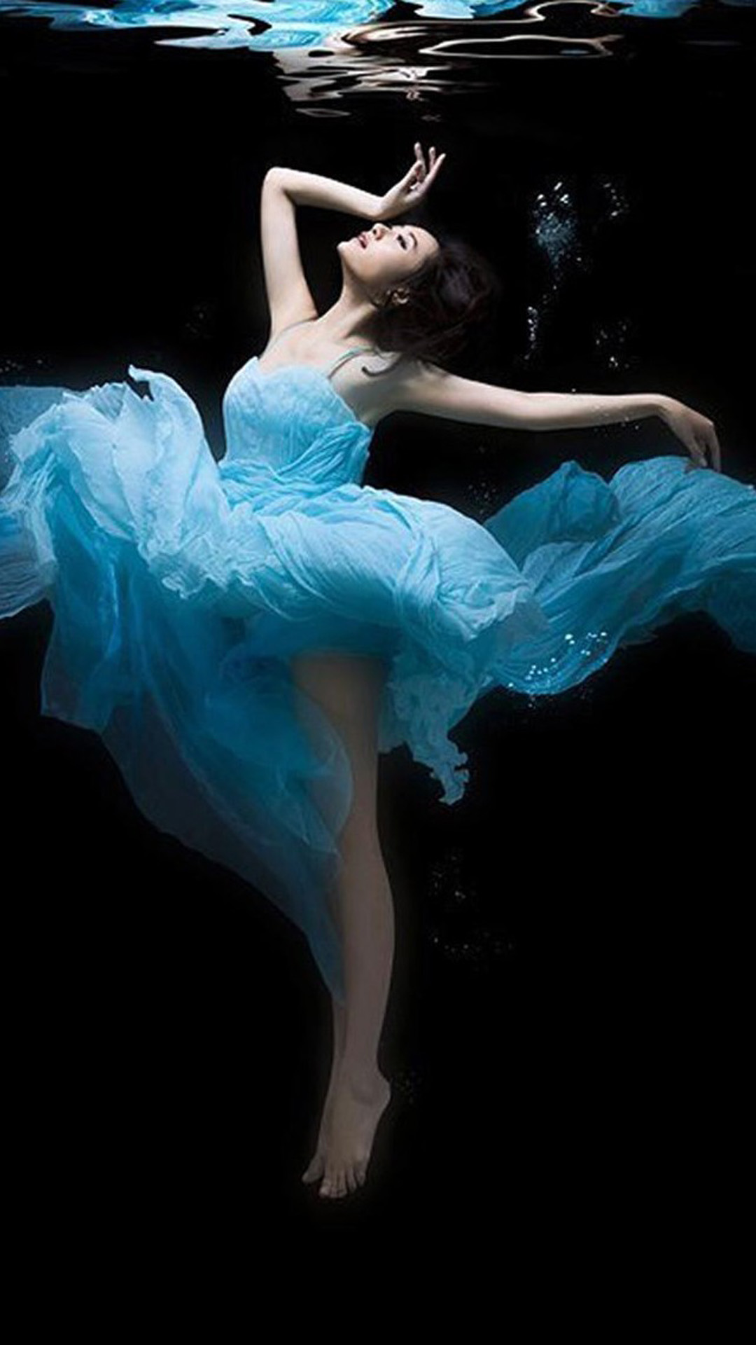 Underwater Ballerina Iphone Wallpapers