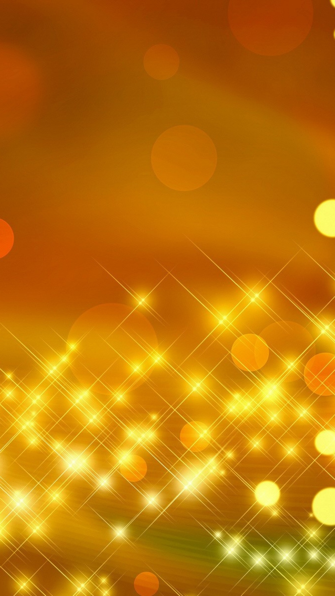 Gold Glitter Particles Iphone Wallpaper Iphone Wallpaper