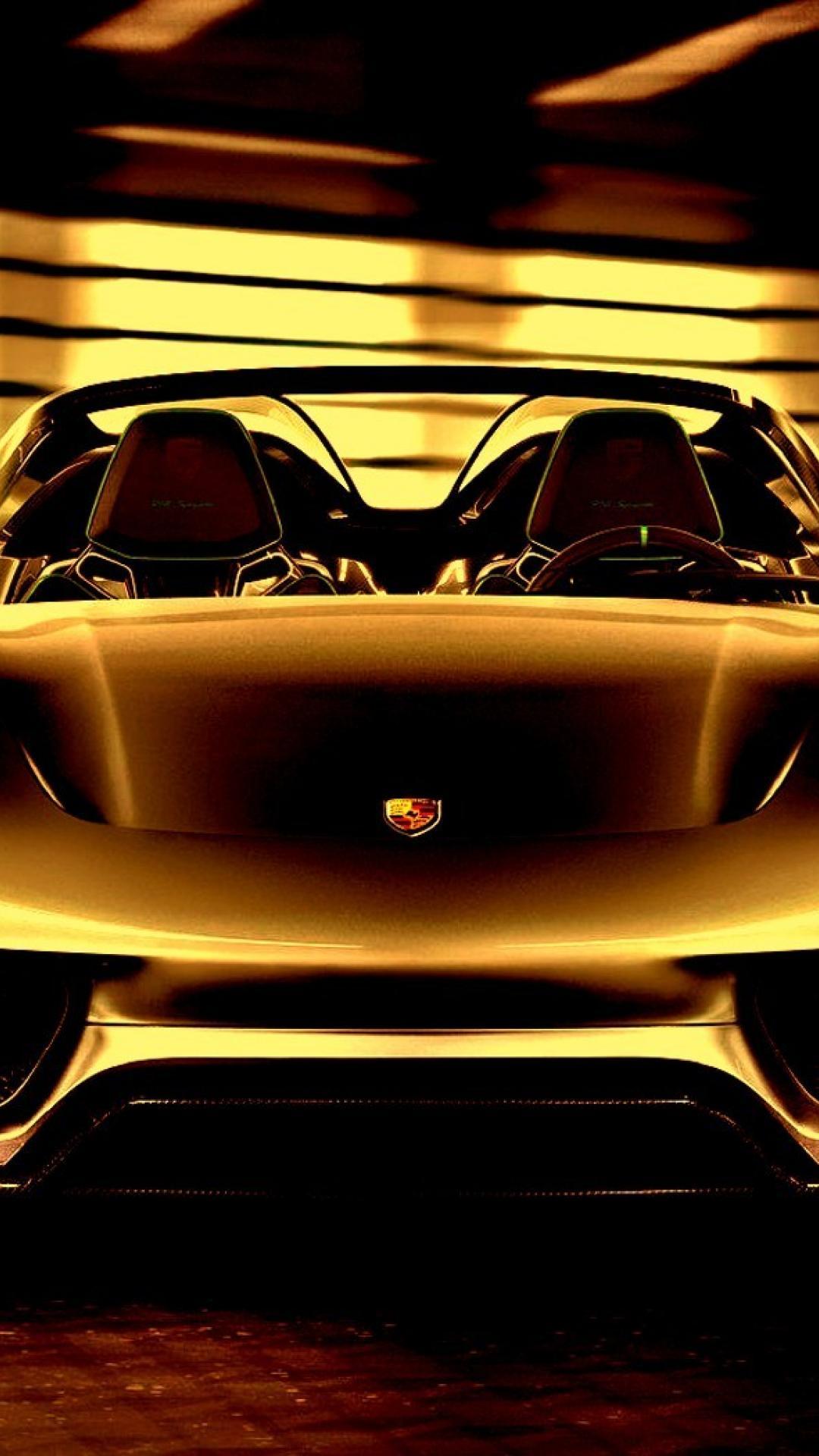 Gold Porsche Wallpapers