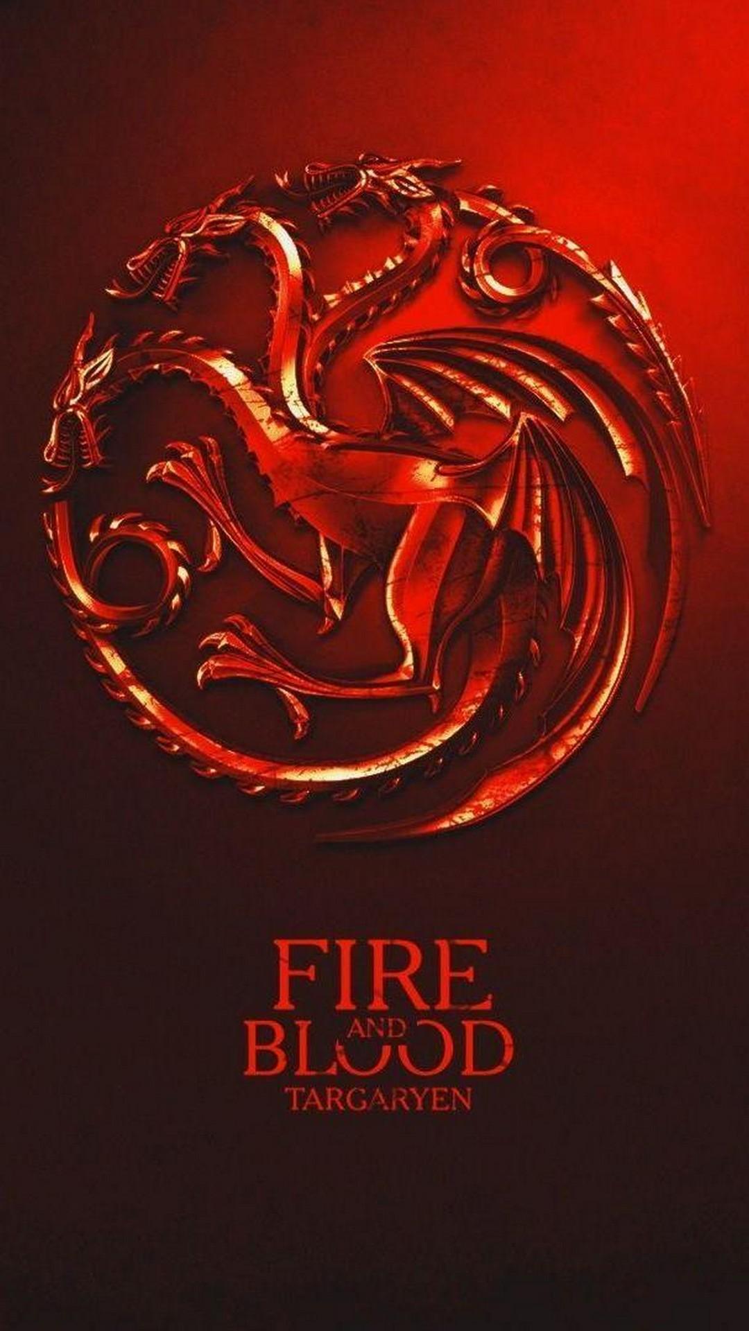 House Targaryen Game Of Thrones Iphone Wallpaper