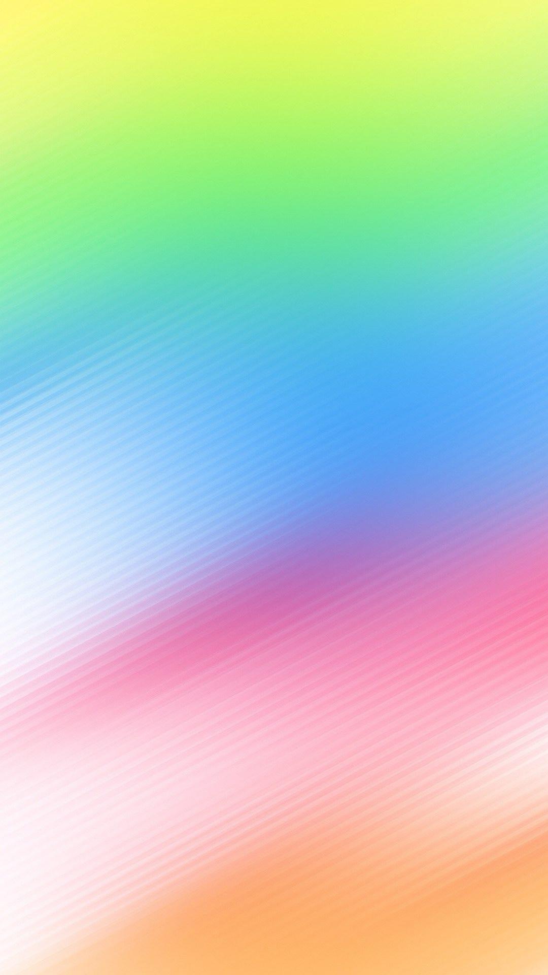 7 Color Pastel Gradient