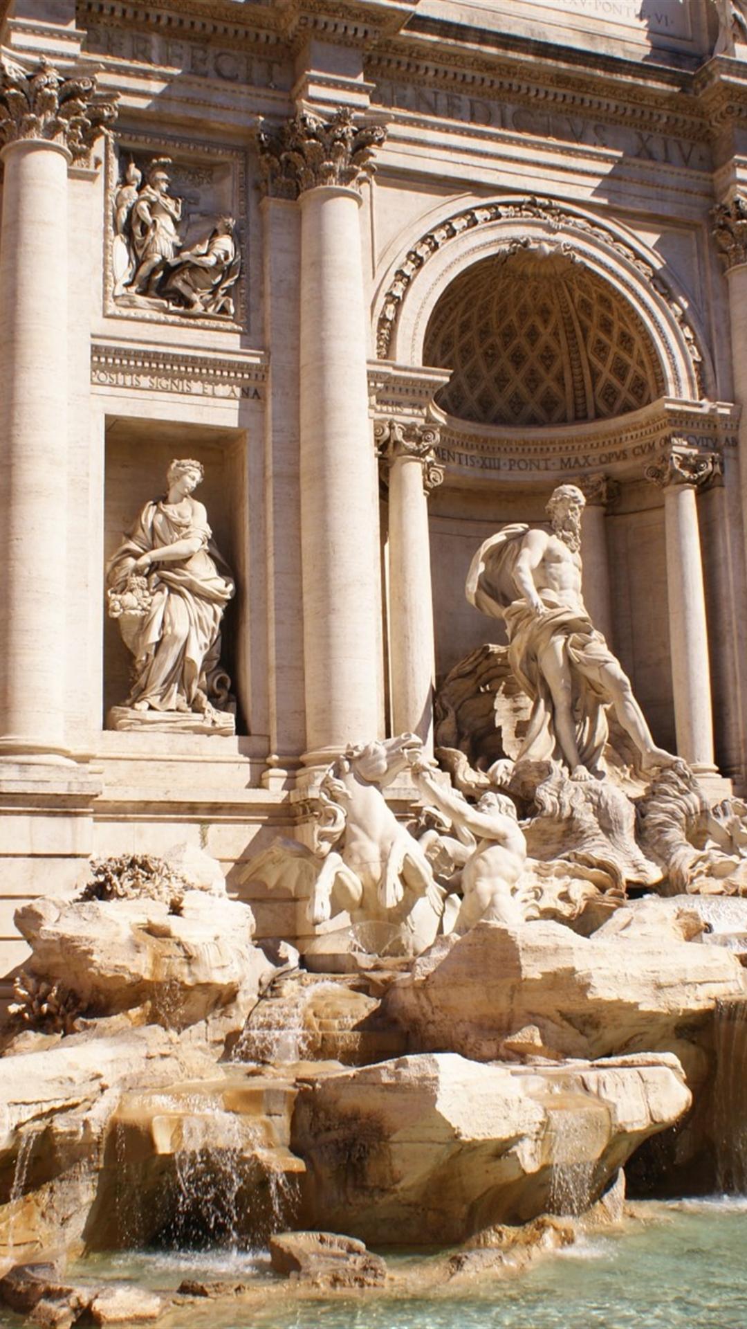 Ancient Roman Statue Iphone Wallpaper
