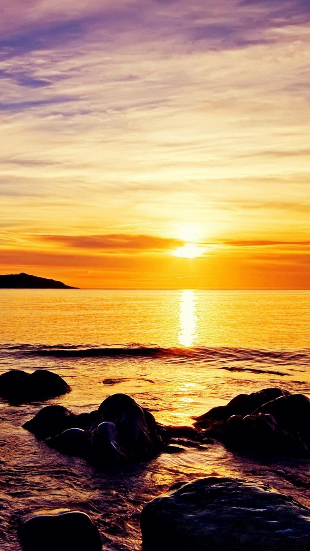 Sunrise Beach Iphone 6s Wallpaper Iphone Wallpaper