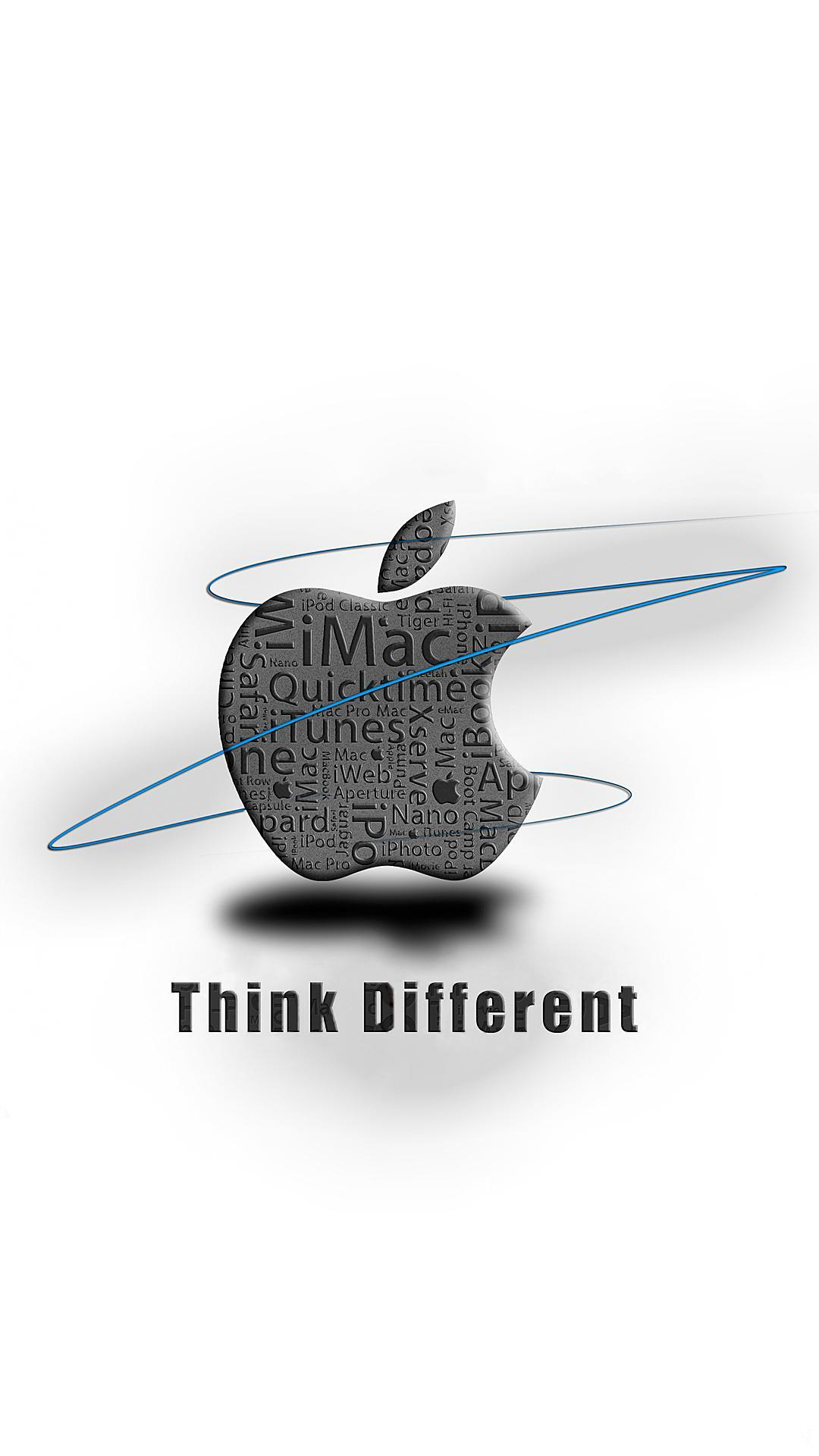 think different | iphone wallpaper