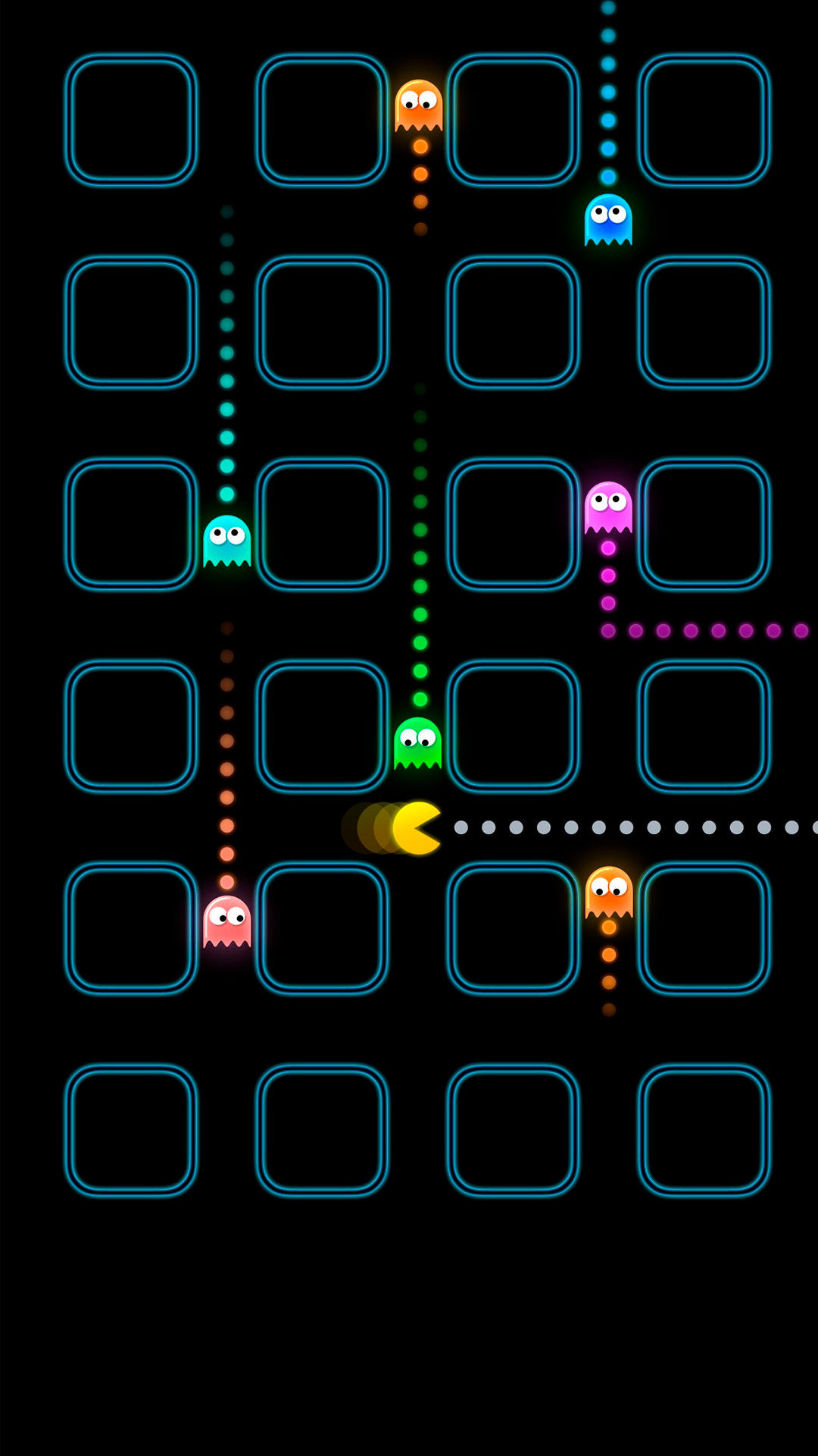 Pac Man Iphone Wallpaper