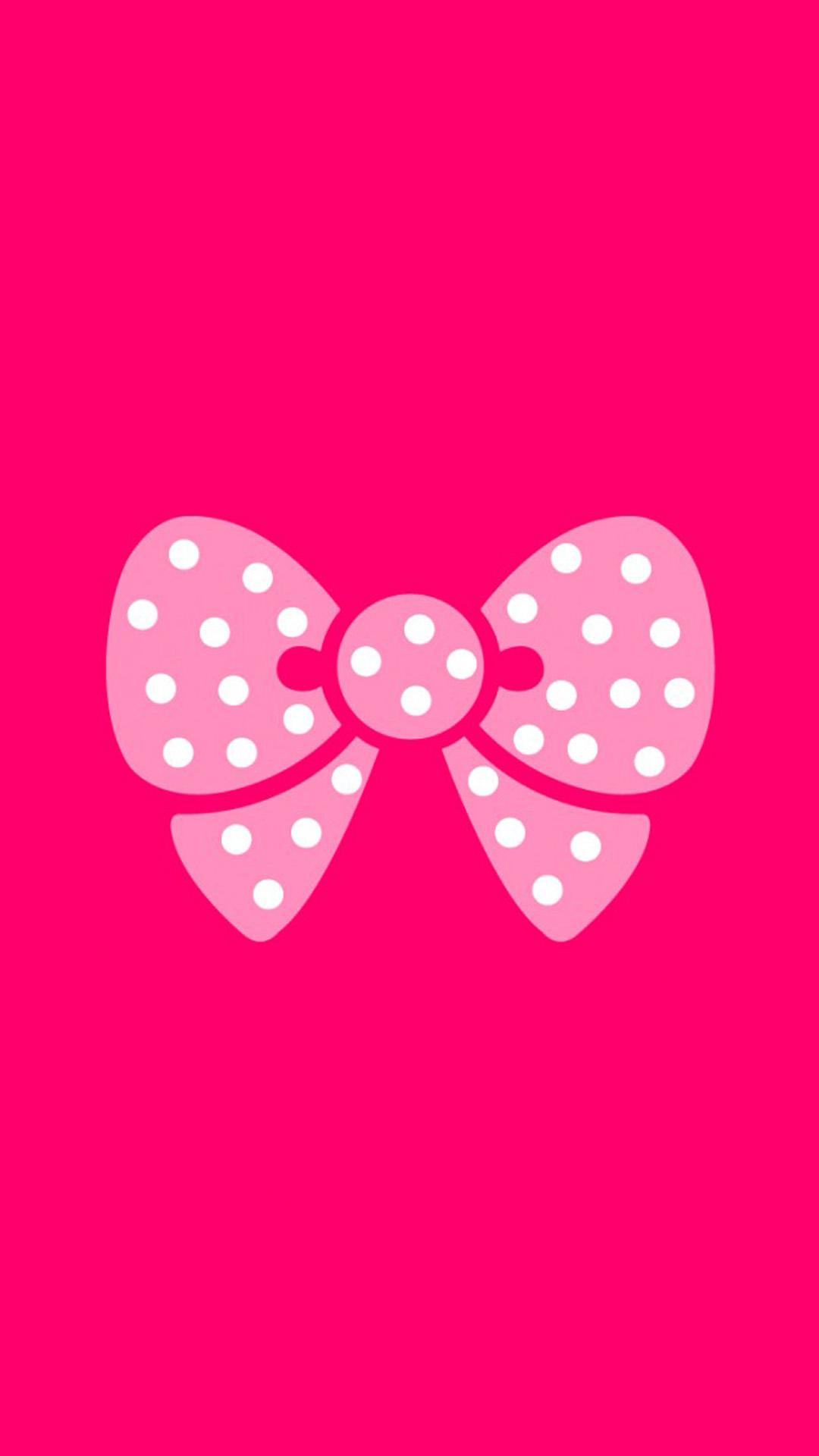 For Girls Pink Ribbon IPhone Wallpaper