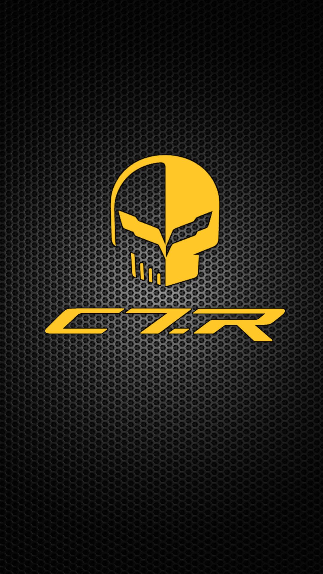 Chevrolet Corvette C7r Iphone Wallpaper