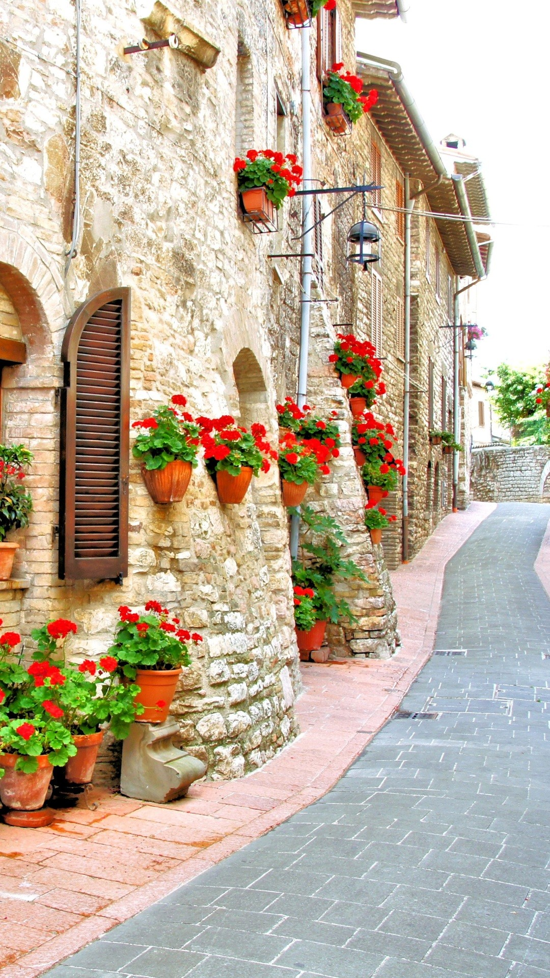 Beautiful Residential Area Of Italy