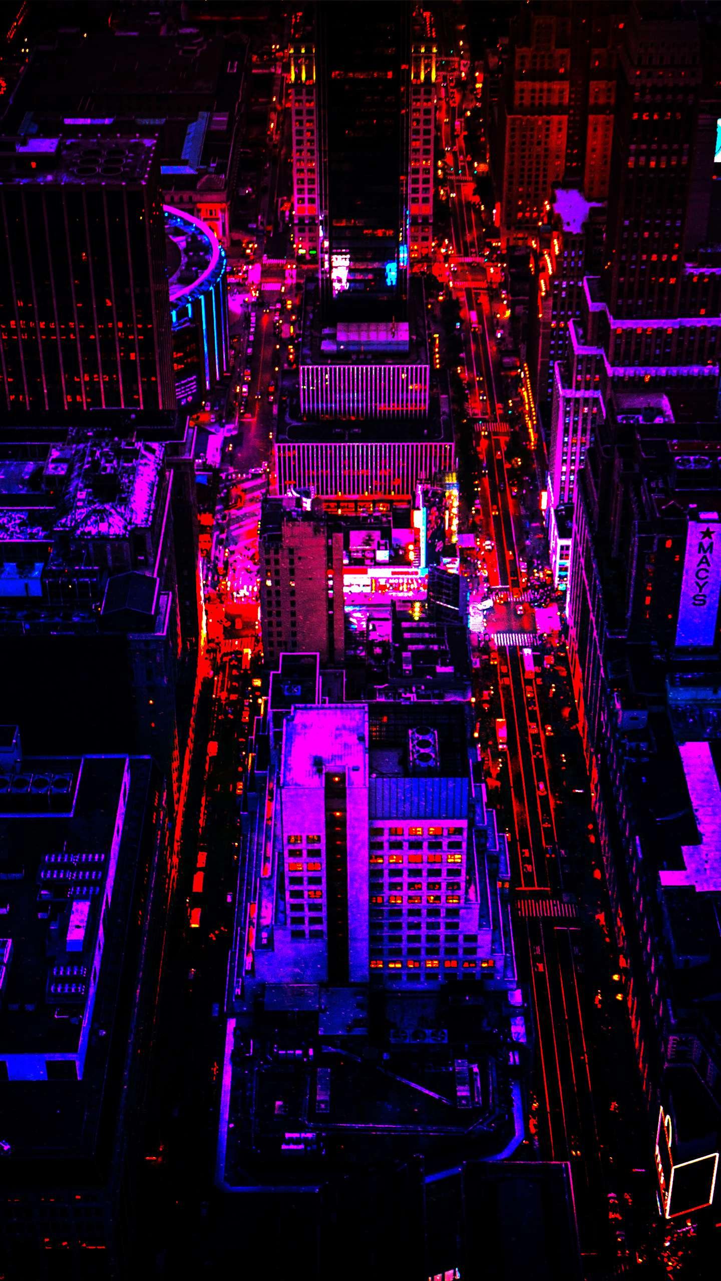 Night View Of Las Vegas Iphone Wallpapers