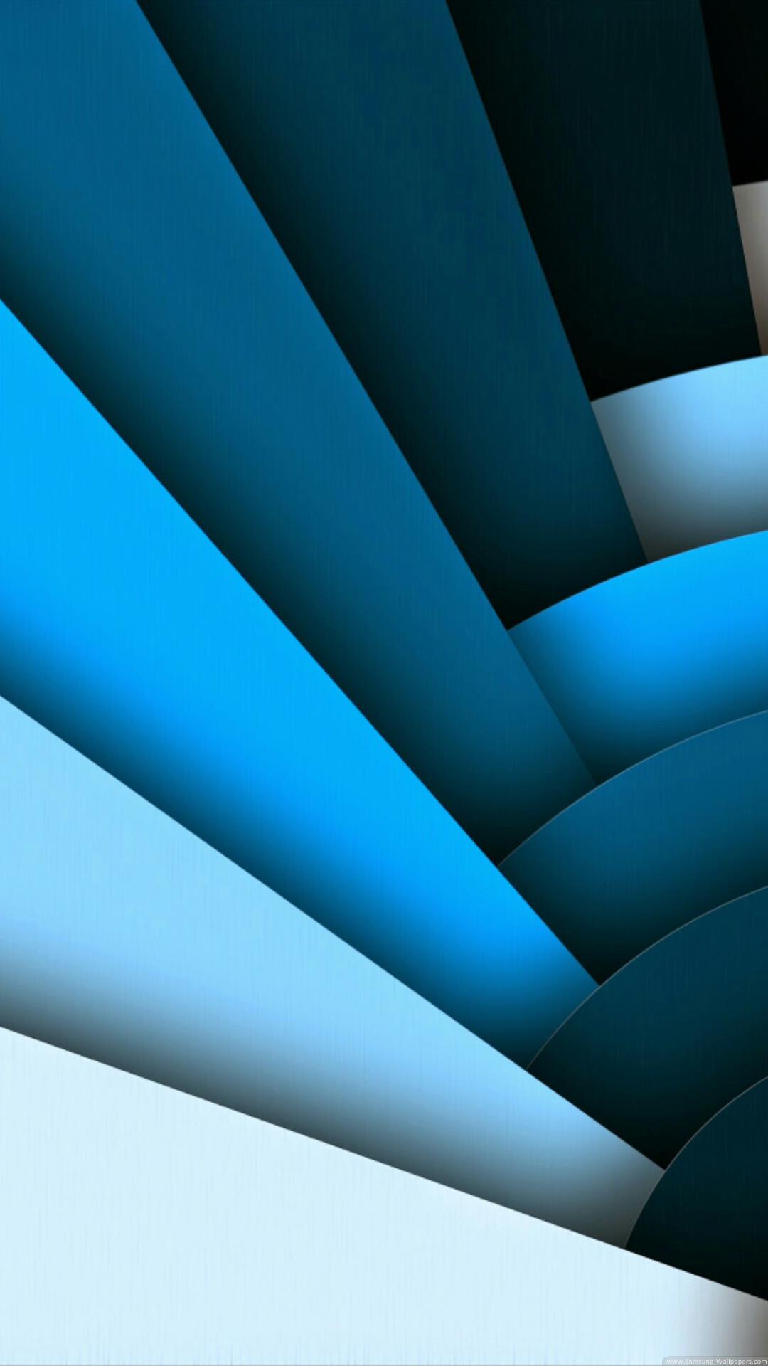 Materials Design Blue Iphone Wallpaper