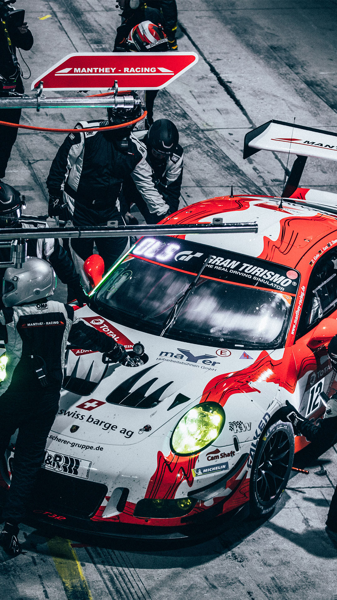 Porsche Racing Car Iphone Wallpapers