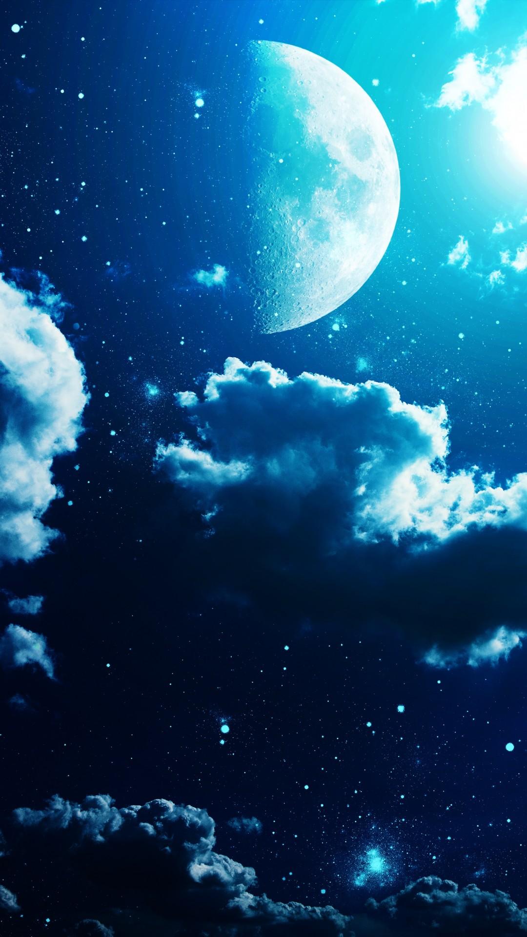 Moon Iphone Wallpaper