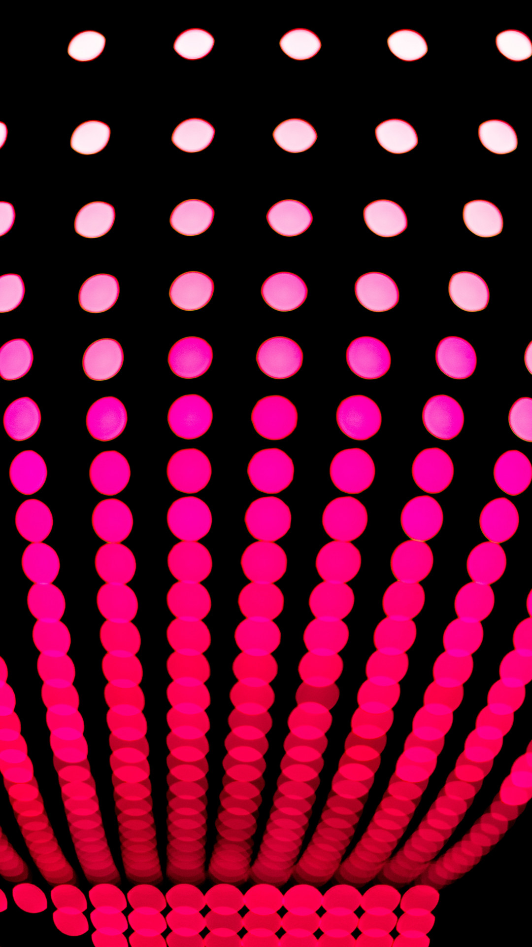 Neon Dot Iphone Wallpaper
