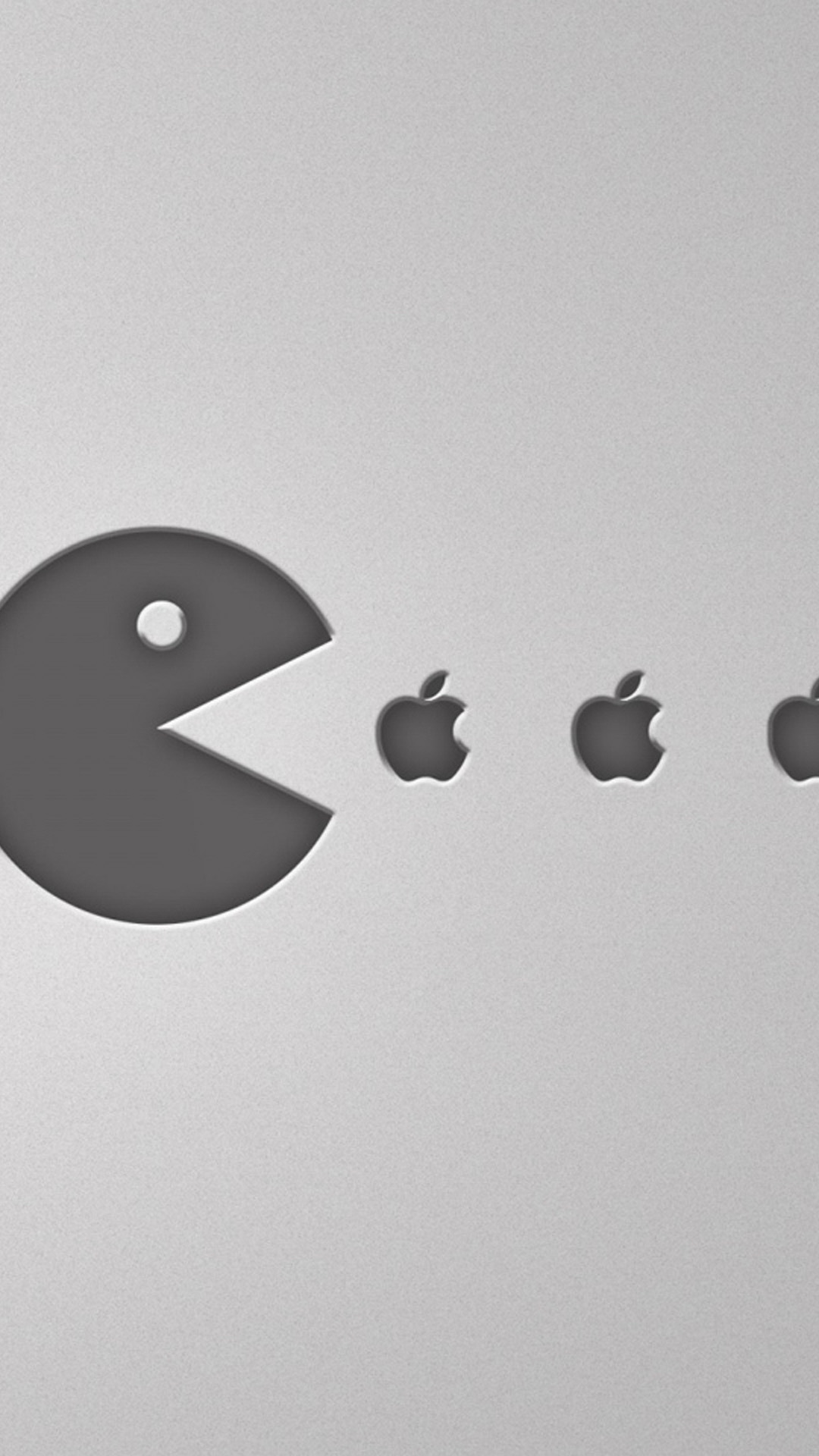 Pacman Eats Apple