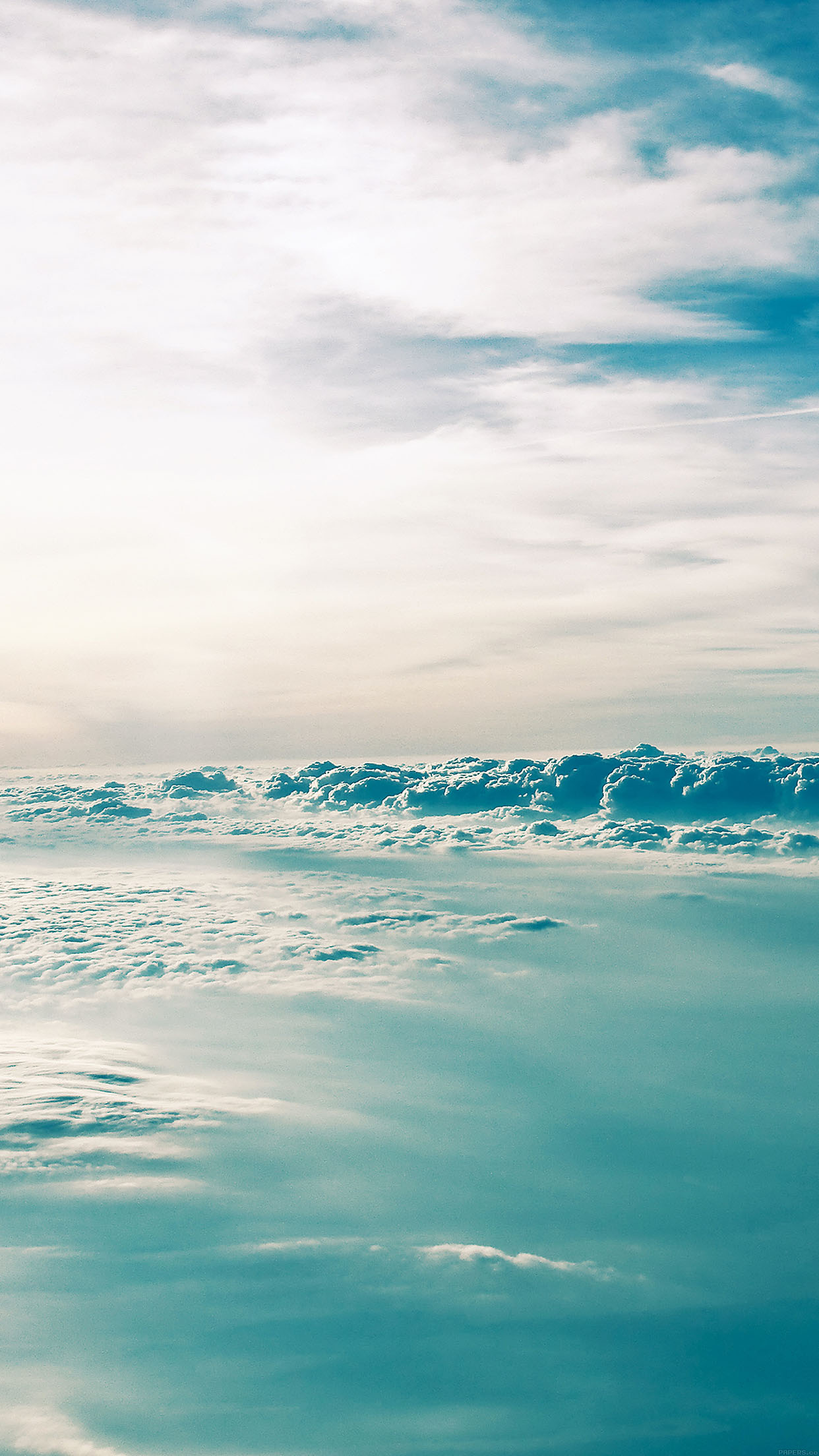 Sea Of Clouds Iphone Wallpaper