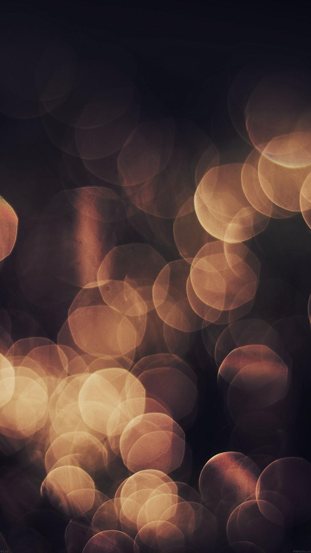 Gold Blur Iphone Wallpaper