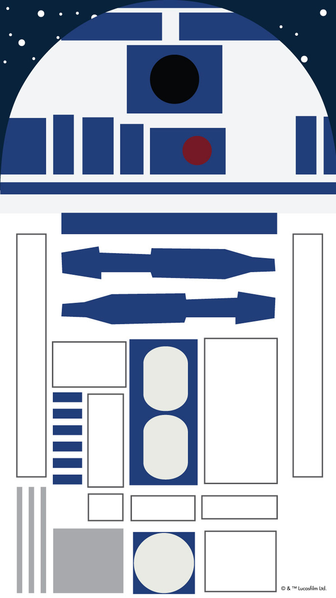 R2 D2 Star Wars Iphone Wallpaper