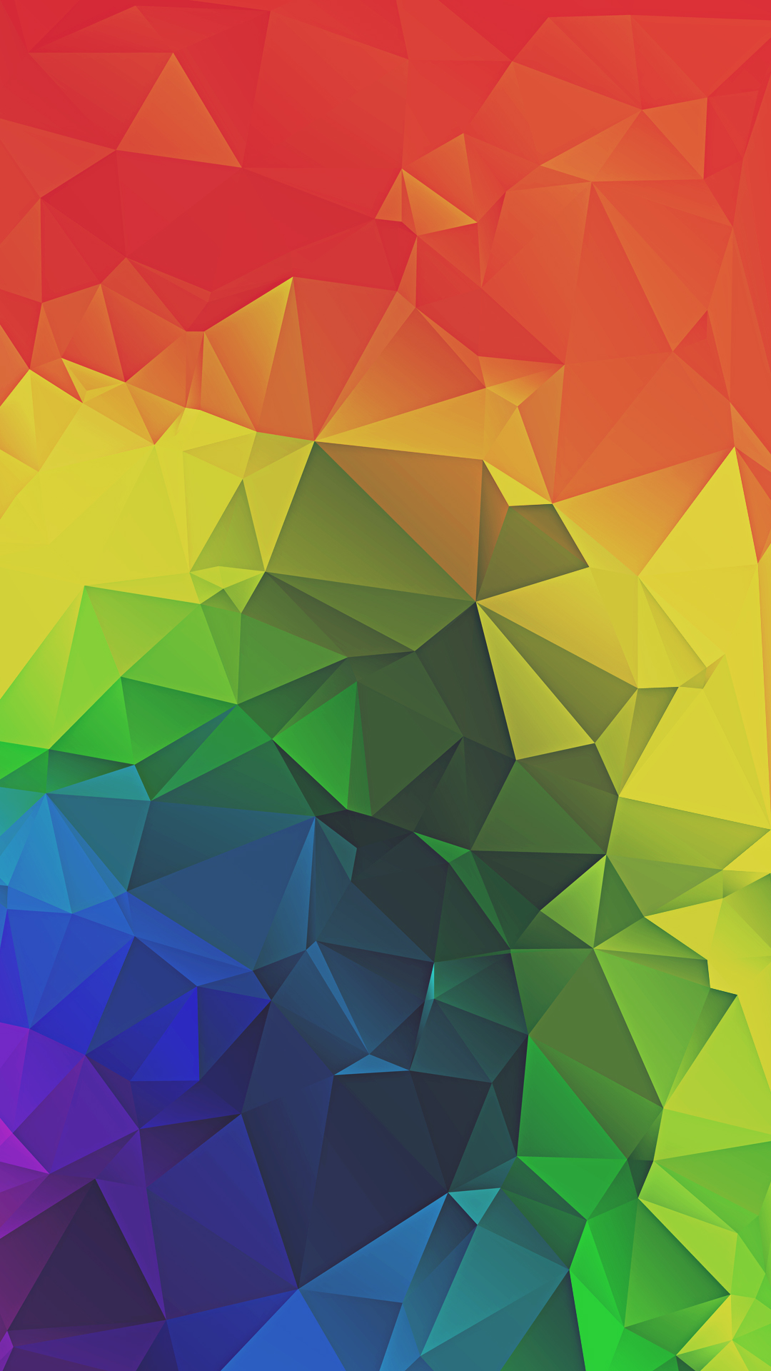 Rainbow Triangles Iphone Wallpapers Iphone Wallpaper