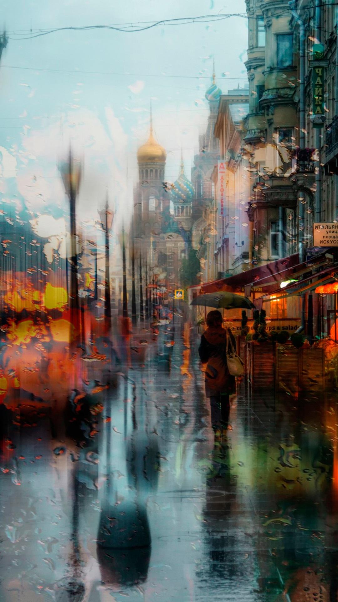 Rainy Day Iphone Wallpaper