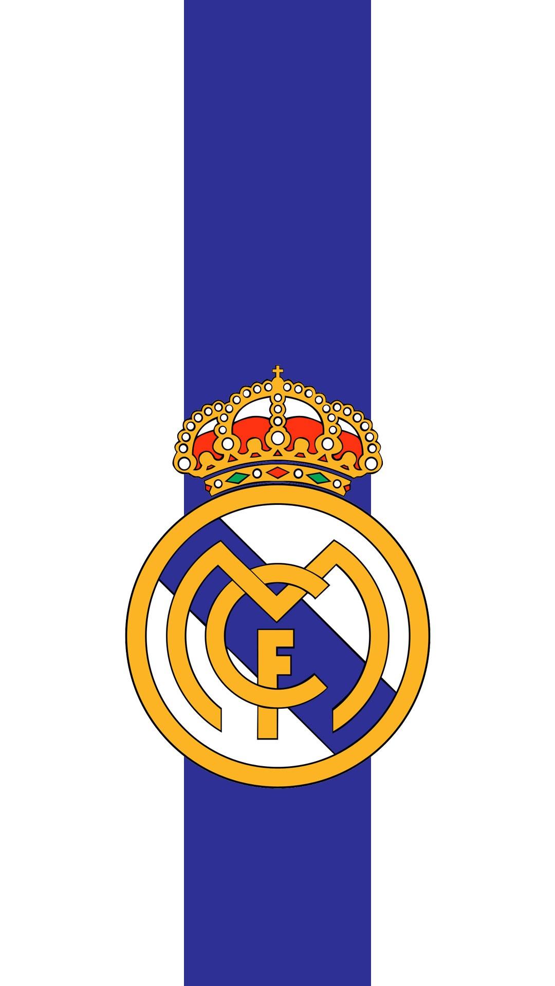 Real Madrid Logo Iphone7 Wallpaper Iphone Wallpaper