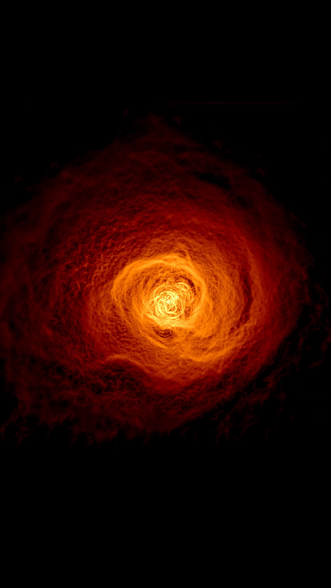 赤い銀河 かっこいい宇宙のスマホ壁紙 Iphone Wallpapers