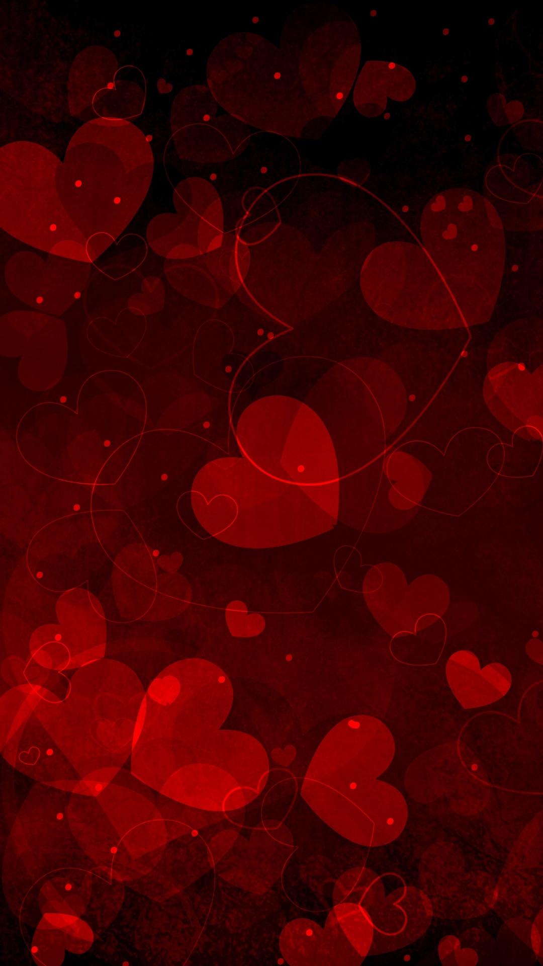 Iphone Full Screen Heart Wallpaper Hd