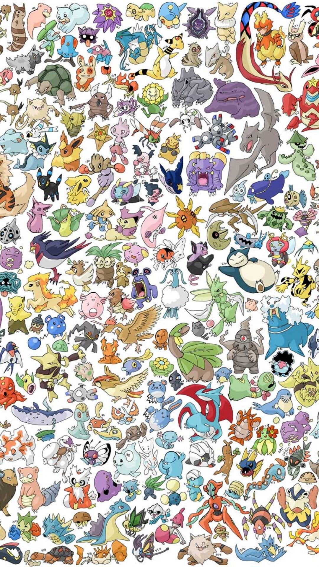 Many Pokemon Characters