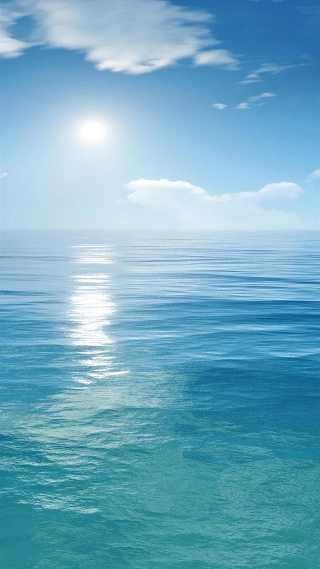 Sunny Sea Iphone Wallpaper