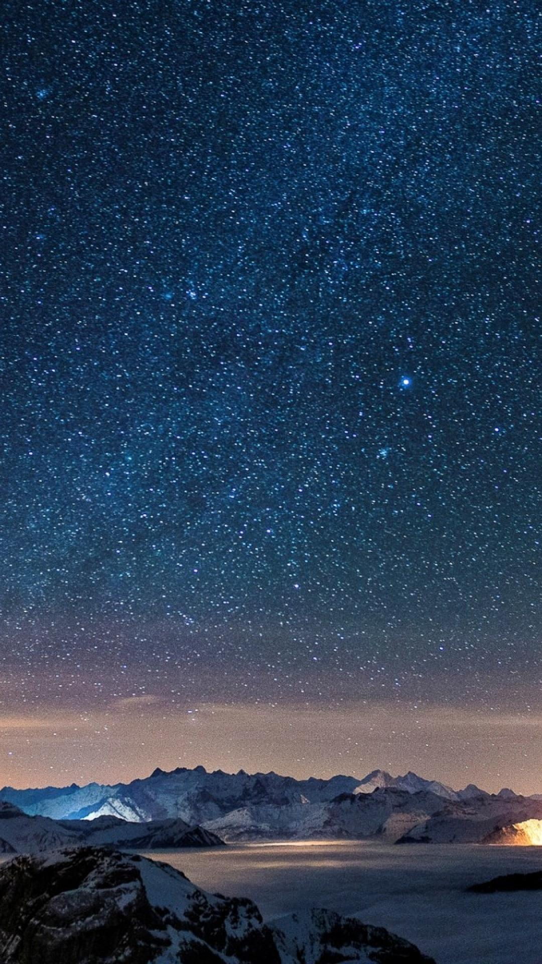 beautiful starry sky iphone wallpaper | iphone wallpaper